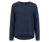 Shirtbluse 'Onlrush' blau