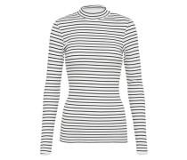 Shirt 'track' schwarz / weiß