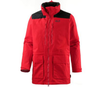 The Pan-American Trek Parka Herren rot