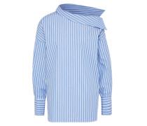 Bluse 'Tila' blau / weiß