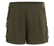Spitzen-Shorts 'CE Shorts' oliv