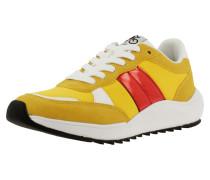 Sneaker grau / gelb