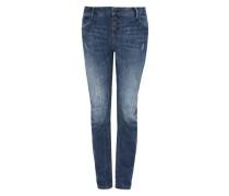 Bowleg: Lässige Destroyed-Jeans blau