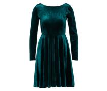 Samtkleid 'Closet' dunkelgrün