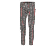 Hose '5622 G-Star Elwood Uncovered' grau / rot / schwarz