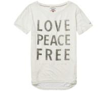 T-Shirt 'thdw Basic CN T-Shirt S/S 15B' weiß