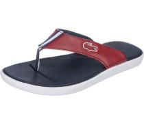 Offene Schuhe 'l.30 117 1' marine / rot