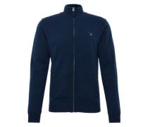 Strickjacke 'super Fine Lambswool ZIP Cardigan' kobaltblau