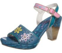 Sandaletten enzian / pink