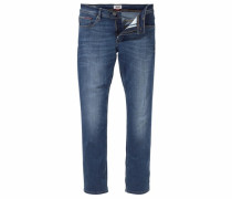 Slim-fit-Jeans »Original Straight Ryan« blau