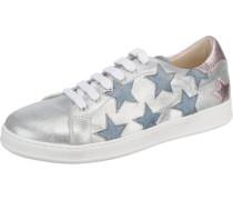 Sneakers rauchblau / rosegold / silber