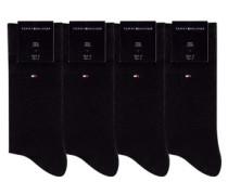 Herrensocken (4 Paar) schwarz
