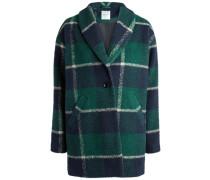 Woll-Jacke grün