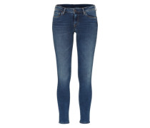 'Lola' Stretch-Jeans blau
