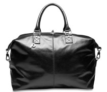 Weekend Reisetasche Leder 45 cm schwarz
