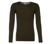 Pullover 'round neck cashmere' grün