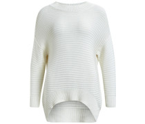 Pullover Strick weiß