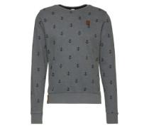 Sweater 'Rise Of An Enemy Iii' dunkelgrau