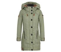 Female Jacket 'A Woman Will Rise Up V' braun / khaki