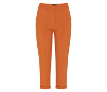 Bundfaltenhose 'stand Still Pant' braun / orange