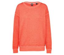 Sweatshirt 'Burn ouT' orangerot