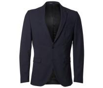 Slim-Fit-Blazer blau
