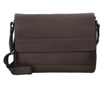 'Do it' Messengerbag Leder 37 cm braun