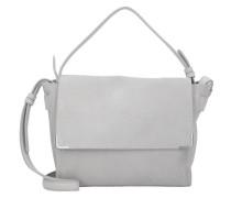 Twentyone I Messenger Bag Tasche Leder 26 cm grau