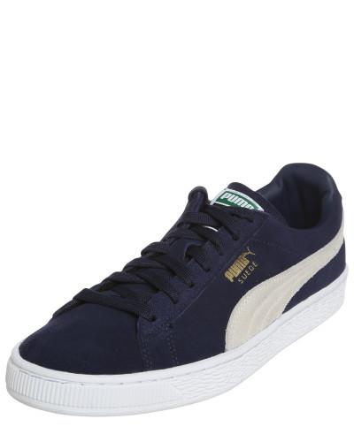 Sneaker 'Suede Classic' marine / weiß
