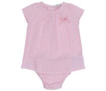 Kleid mit kurzen Ärmeln 'nitgabriella sear' pink