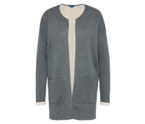 Casual Cardigan graumeliert