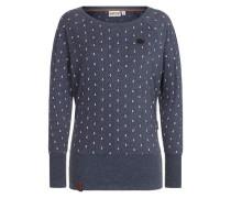 Female Sweatshirt 'Hodenschmerzen Iii' indigo