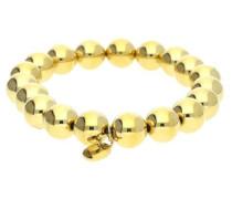 Armband 'Bold Spheres Esbr11655B160' gold