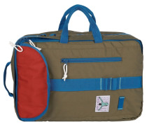 Dublin Rucksack 40 cm Laptopfach blau / oliv / rot