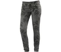 Skinny Fit Jeans 'AleenaTZ' grau