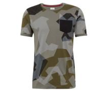 T-Shirt 'Camou Tee' khaki