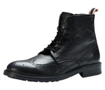 Brogue-Stiefel schwarz