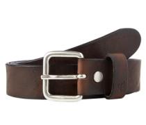 Gürtel '3cm vintage leather' braun