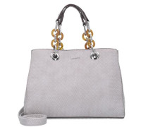 'Rania' Handtasche 28 cm grau