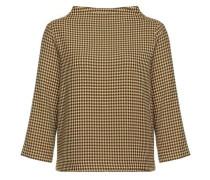 Sweatshirt 'Galvi retro' senf / schwarz