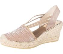 Sandaletten hellbeige / grau