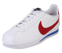 Sneaker Low 'Classic cortez' blau / rot / weiß