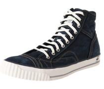 Sneaker 'Falton Washed Hi' blau / schwarz