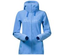 Fleecejacke 'Bryggen' blau