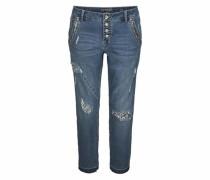 Boyfriend-Jeans 'bailey' blue denim