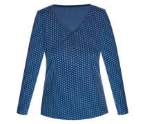 Shirt 'lovely Dots' blau / hellblau