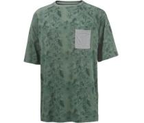 Oversize Shirt oliv