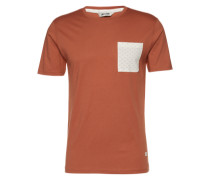 T-Shirt 'onsDREW' braun