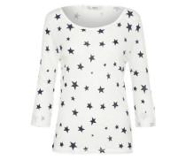 Shirt 'onlJESS' schwarz / offwhite
