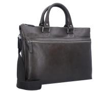 'Buddy' Business-Tasche Leder 41 cm braun / graphit